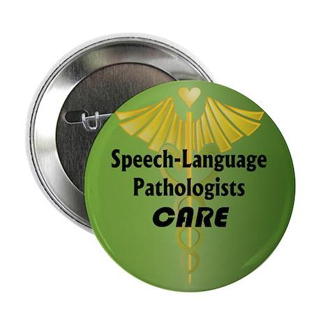 Speech-Language Pathologists Care Button