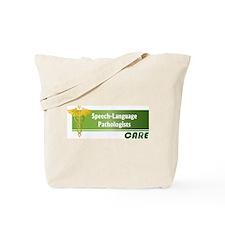 Speech-Language Pathologists Care Tote Bag
