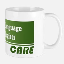 Speech-Language Pathologists Care Mug
