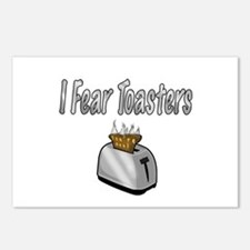 I fear Toasters Postcards (Package of 8)