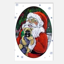 Santa and Me Cairn Oval Postcards (8)