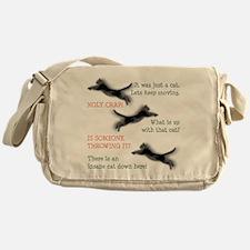 Insane Cat Messenger Bag
