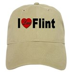 I Love Flint Cap