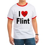 I Love Flint Ringer T