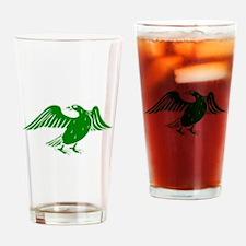 Green Duck Drinking Glass