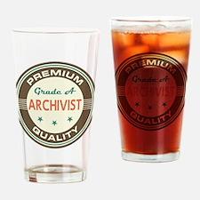 Archivist Vintage Drinking Glass