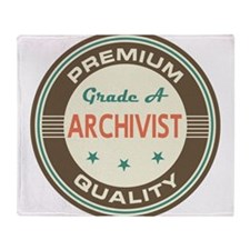 Archivist Vintage Throw Blanket