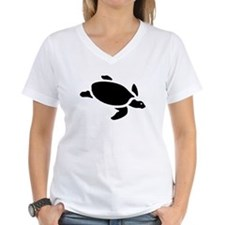 Sea Turtle Silhouette T-Shirt