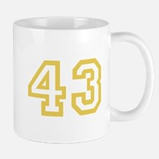 GOLD #43 Mug