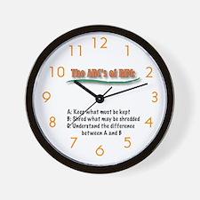 OCARMA Wall Clock