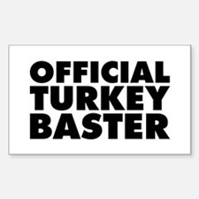 Official Turkey Baster Decal