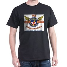 7TH ARMY AIR FORCE*HAWAIIAN AIR FORCE WORL T-Shirt