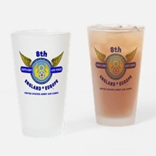 8TH ARMY AIR FORCE*ARMY AIR CORPS W Drinking Glass