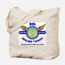 8TH ARMY AIR FORCE*ARMY AIR CORPS WORLD W Tote Bag