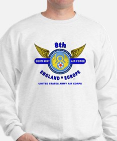 8TH ARMY AIR FORCE*ARMY AIR CORPS WORLD Sweatshirt