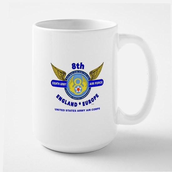 8TH ARMY AIR FORCE*ARMY AIR CORPS WORLD Large Mug