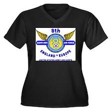 8TH ARMY AIR Plus Size T-Shirt