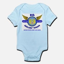 8TH ARMY AIR FORCE*ARMY AIR CORPS WORLD Body Suit