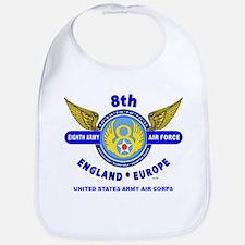 8TH ARMY AIR FORCE*ARMY AIR CORPS WORLD WAR II Bib