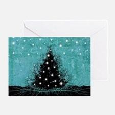 Bare Branches Holiday Tree Greeting Card