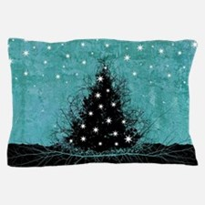 Bare Branches Holiday Tree Pillow Case