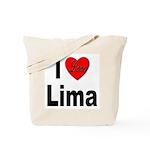 I Love Lima Tote Bag