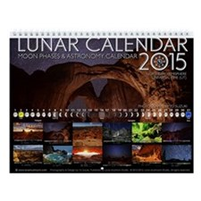 Lunar Calendar 2015 Astronomy Wall Calendar A