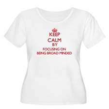 Being Broad-Minded Plus Size T-Shirt