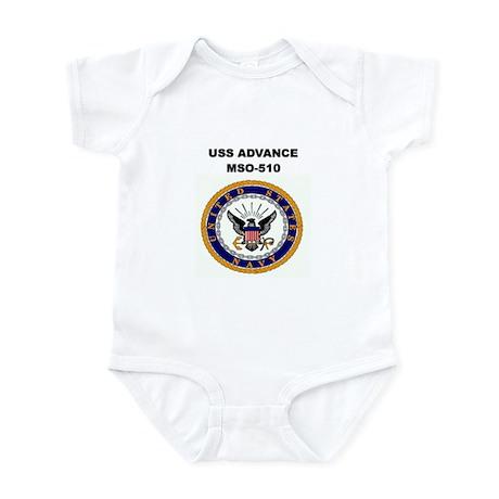 USS ADVANCE Infant Creeper