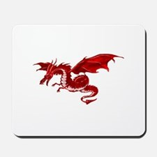 Red Dragon Mousepad