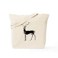 Buck Silhouette Tote Bag