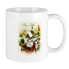 Merry Christmas church Mugs