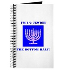 Funny Half Jewish the Bottom 1/2 Journal