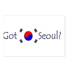 Got Seoul? Postcards (Package of 8)