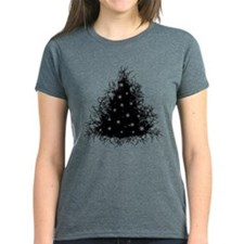 Gothic Branches Christmas Tre Tee