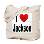 I Love Jackson Tote Bag