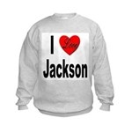 I Love Jackson Kids Sweatshirt