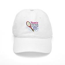 Tennis is a matter ... Baseball Cap