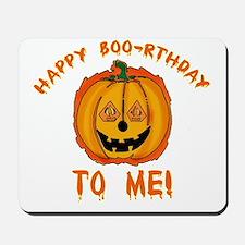 Happy Boorthday Halloween Birthday Mousepad
