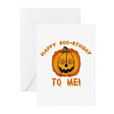 Happy Boorthday Halloween Birthday Greeting Cards