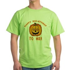Happy Boorthday Halloween Birthday T-Shirt