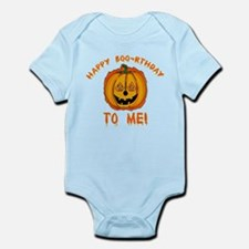 Happy Boorthday Halloween Birthday Infant Bodysuit