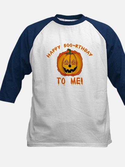 Happy Boorthday Halloween Birthday Kids Baseball J