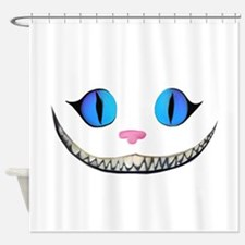 Invisible Cheshire Cat Shower Curtain