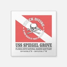 USS Spiegel Grove Sticker