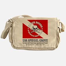 USS Spiegel Grove Messenger Bag