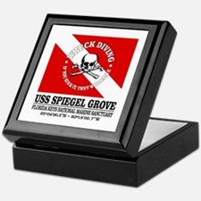 USS Spiegel Grove Keepsake Box