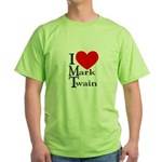 Mark Twain Green T-Shirt