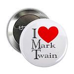 Mark Twain Button