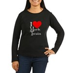 Mark Twain Women's Long Sleeve Dark T-Shirt